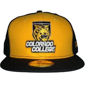 New Era Colorado College Tigers Fitted Hat 7 5/8